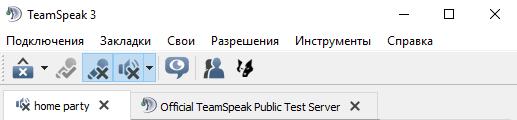 сервера в TeamSpeak